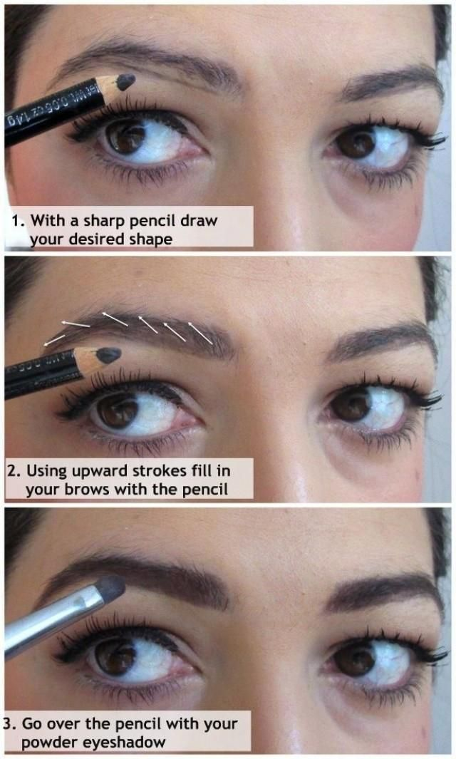 how to fill in your eyebrows i like this technique vanity