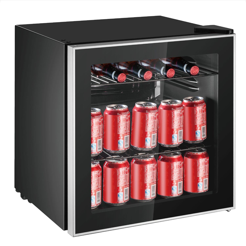 Frigidaire 70 Can Beverage Refrigerator Efmis164 Com2 Black Walmart Com In 2020 Beverage Refrigerator Glass Door Refrigerator Glass Door Fridge
