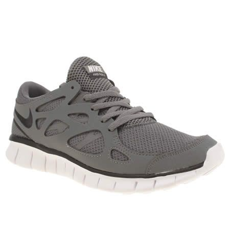 Femmes Nike Free Run Gris V2 Formateurs Ext Chaussures