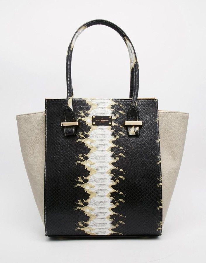 PAUL'S BOUTIQUE Paul's Boutique Mila Winged Tote Bag