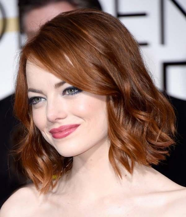 109 Best Hairstyles For Girls That Will Trend In 2021 Emma Stone Hair Hair Styles Medium Length Hair Styles