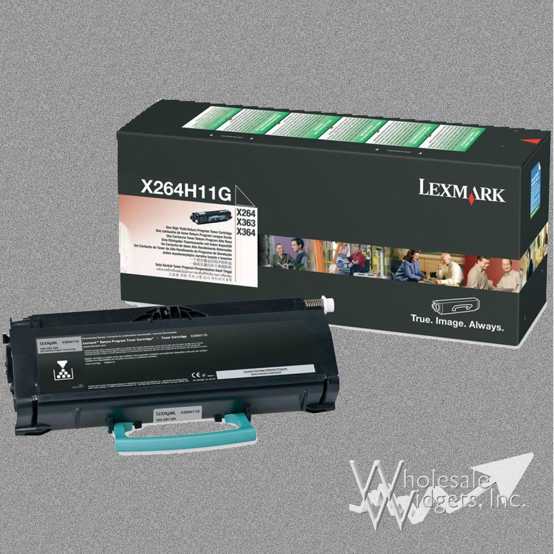 Lexmark X264A11G Toner For Use In X264, X363, X364 Return