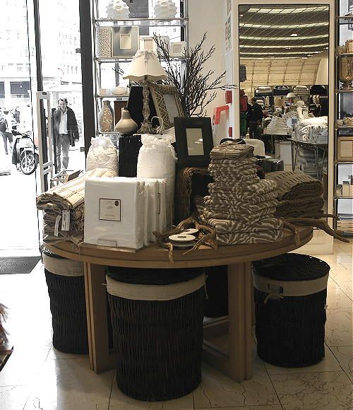 Zara Home Store Milan 2012 Collection