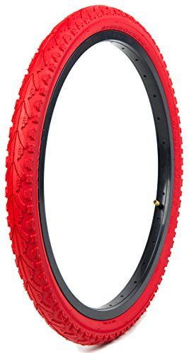 Kenda Tires Kwest Commuter Folding Recumbent Bicycle Tires Red