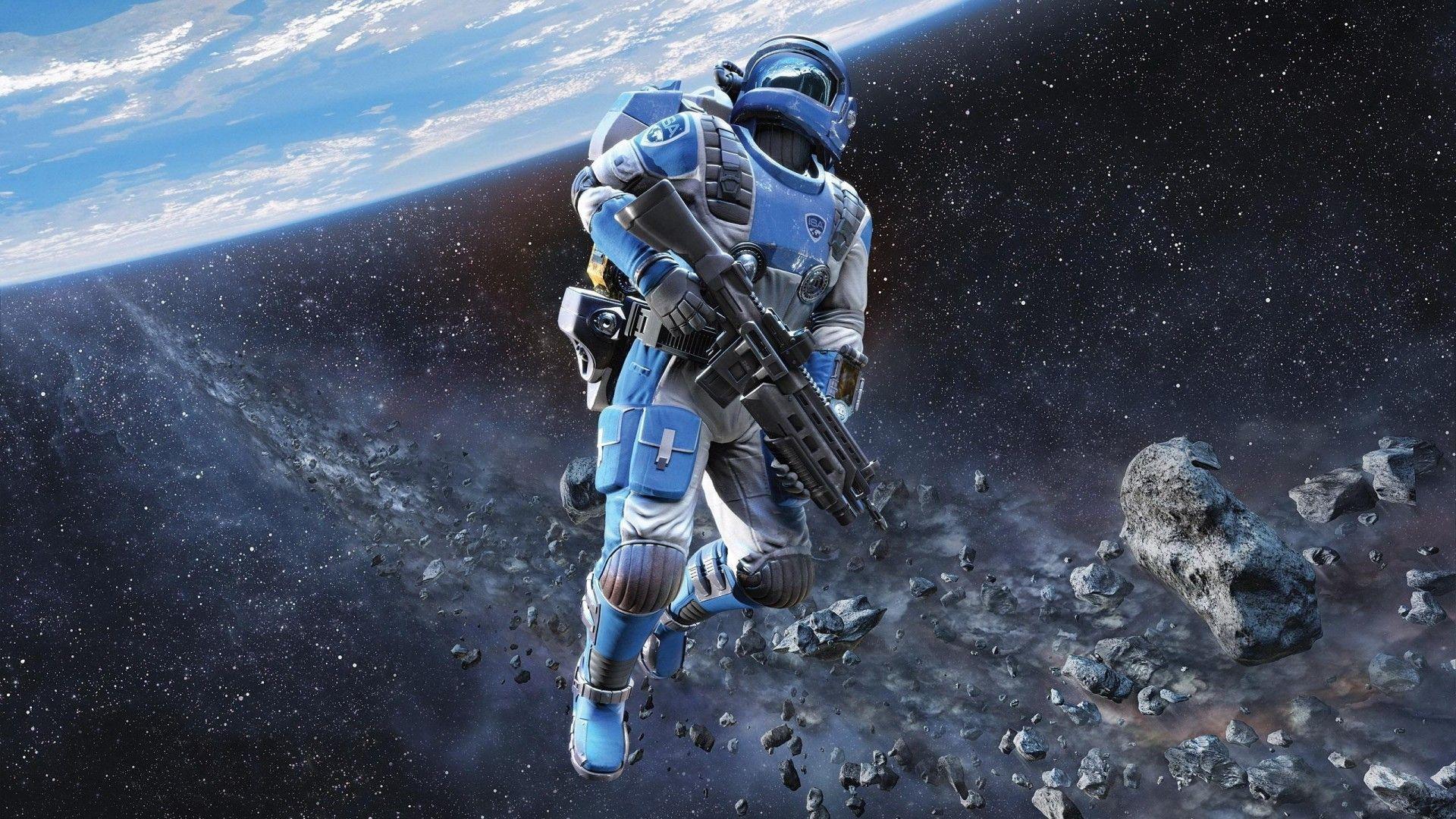 Future Astronaut Jpg 1920 1080 Sci Fi Wallpaper Science Fiction Illustration Hd Backgrounds