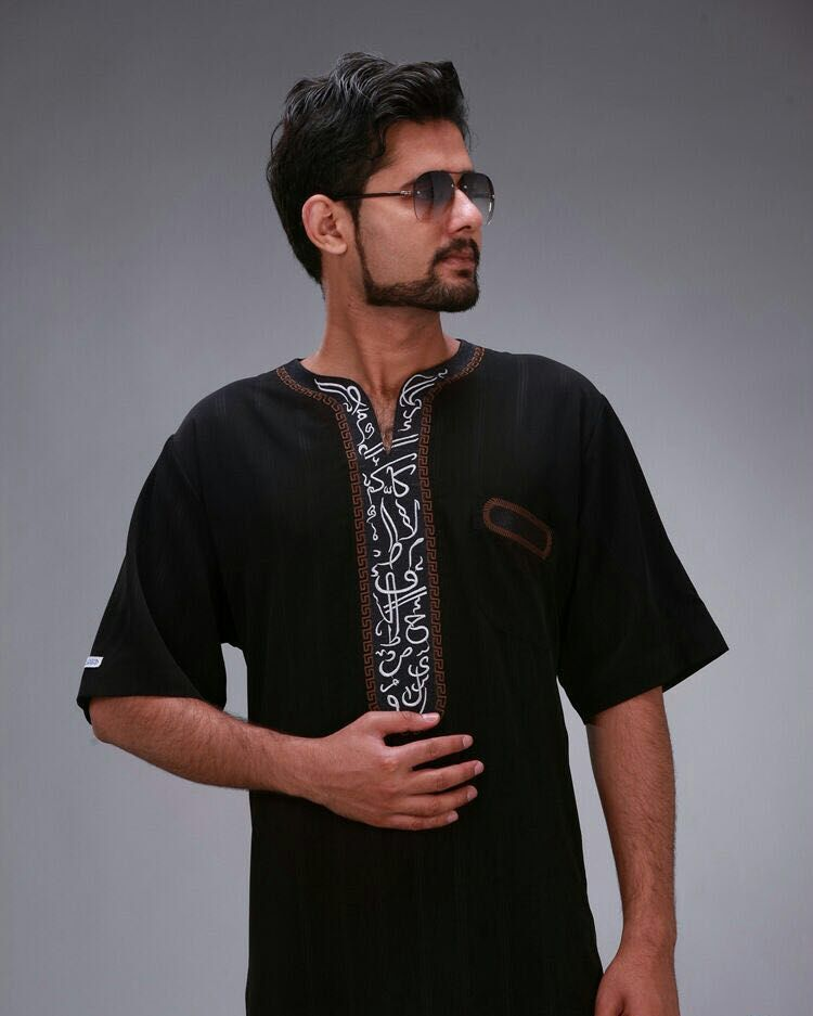 d5193757464 Short sleeve Saudi Arab style Muslim Men abaya Jubba Thobe //Price: $53.40  & FREE Shipping // #islamicwear