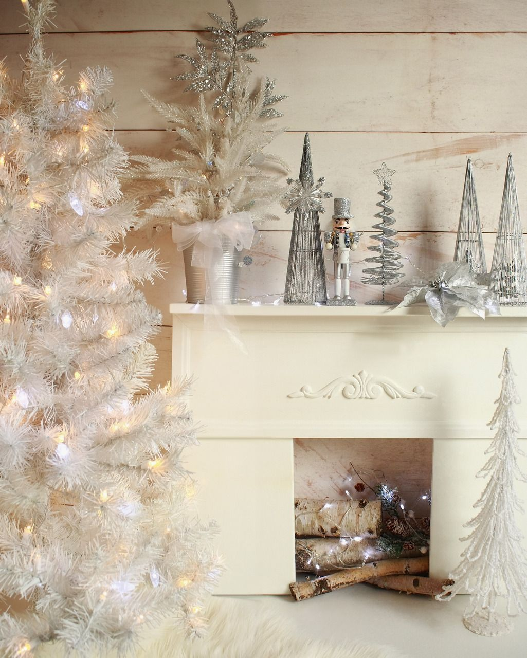 Christmas Picture Backdrop Ideas Silver Fireplace More Christmas Backdrops Backdrops And