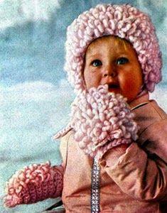Loop stitch hat and mittens pattern free crochet patterns loops stitch abf37ff47b2