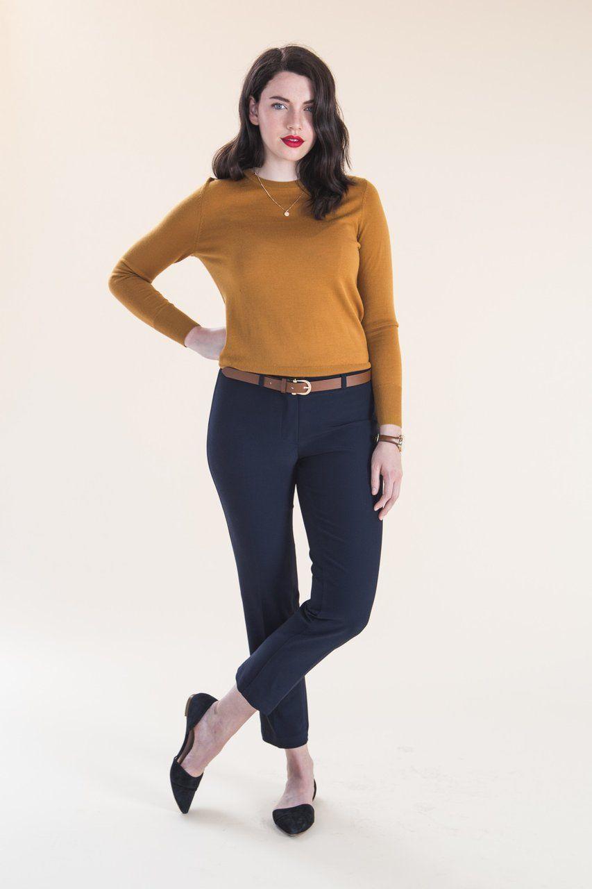 Sasha trousers pattern | Schnittmuster und Nähen