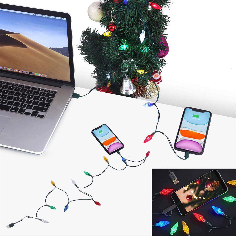Led Usb Christmas Lights Charging Cable Usb Christmas Lights Christmas Lights Led Christmas Lights