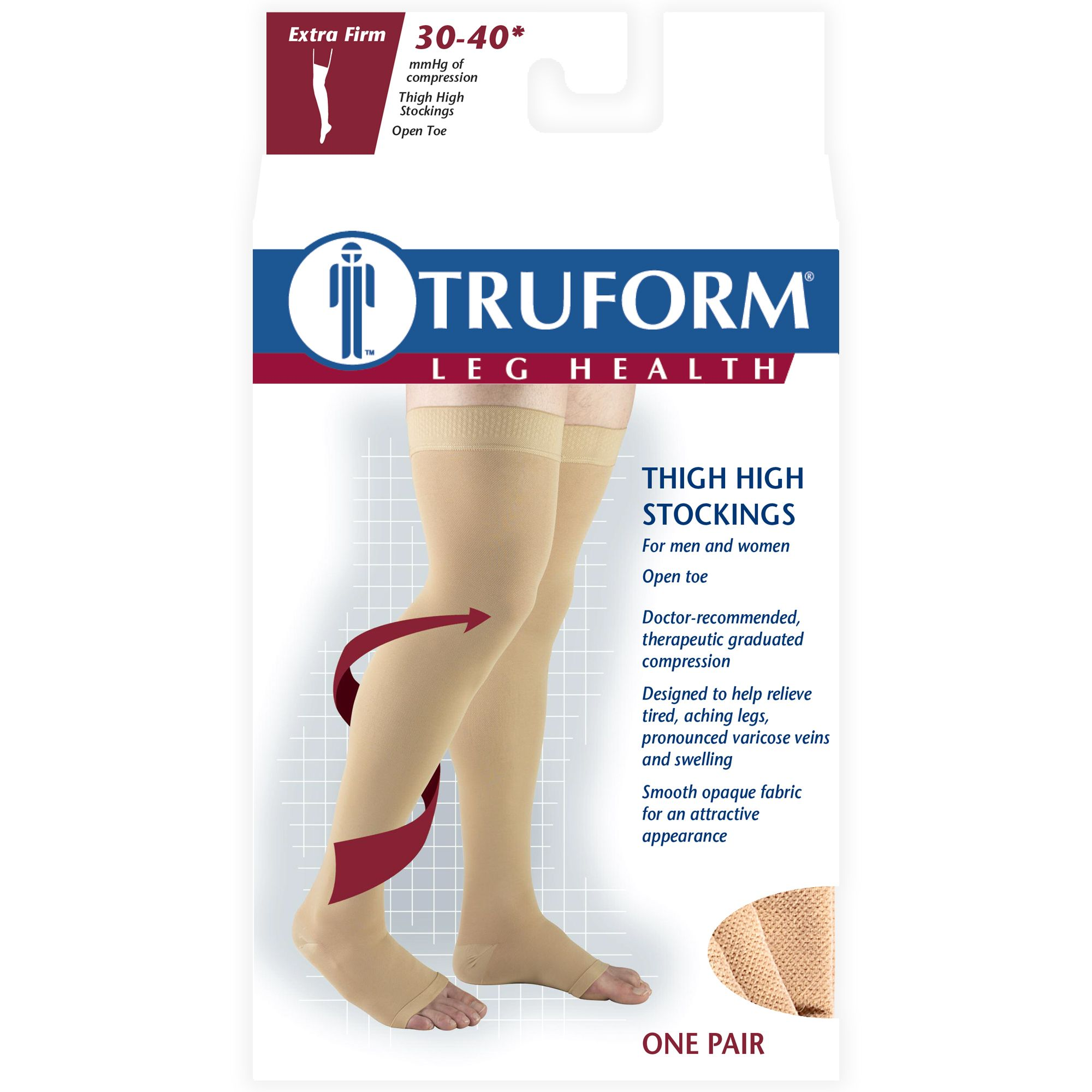 82e8d5245b9 Truform Stockings