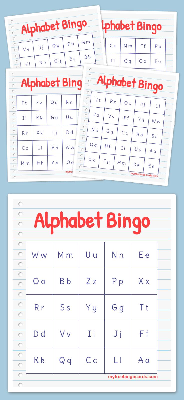 Alphabet bingo letter generator newsinvitation free printable bingo cards alphabet bingobingo card generatorfree spiritdancerdesigns Gallery