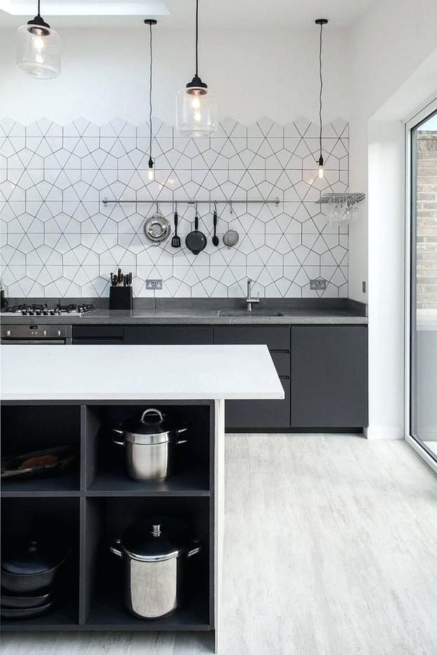 Kitchen Backsplash Without Upper Cabinets Scandinavian Kitchen Design Trendy Kitchen Backsplash Scandinavian Kitchen