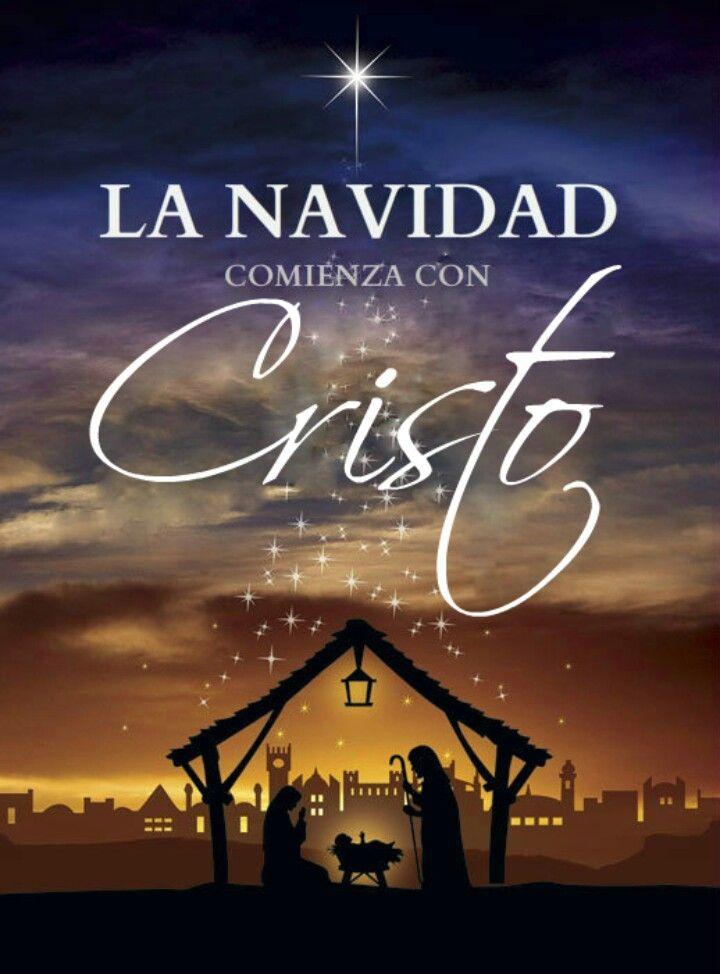 La Navidad Comienza Con Cristo Navidad Cristiana Frases De Navidad Navidad