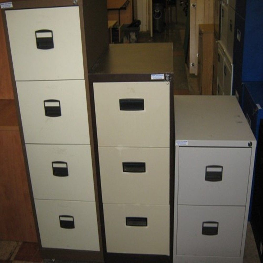 Second Hand Office File Cabinets
