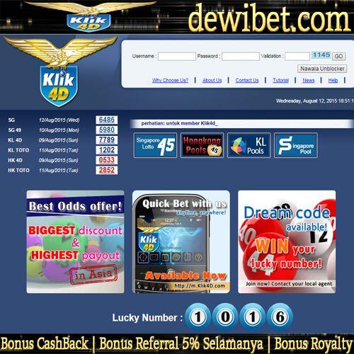 Dewibet Com Asia Live Toto4d Gmail Ag Dewibet Gmail Com Ym