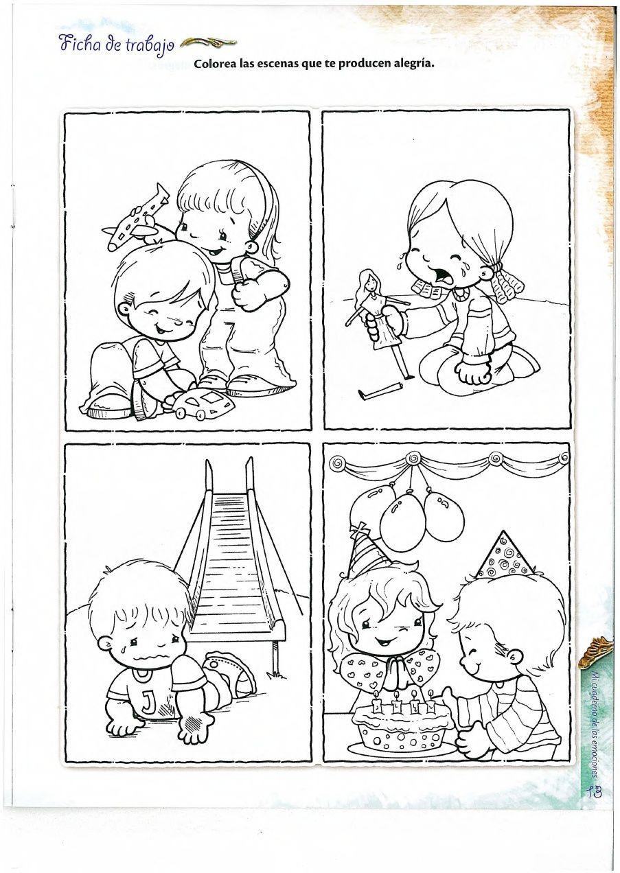 Cuaderno Emociones Emociones Preescolares Actividades Emociones Inteligencia Emocional Educacion
