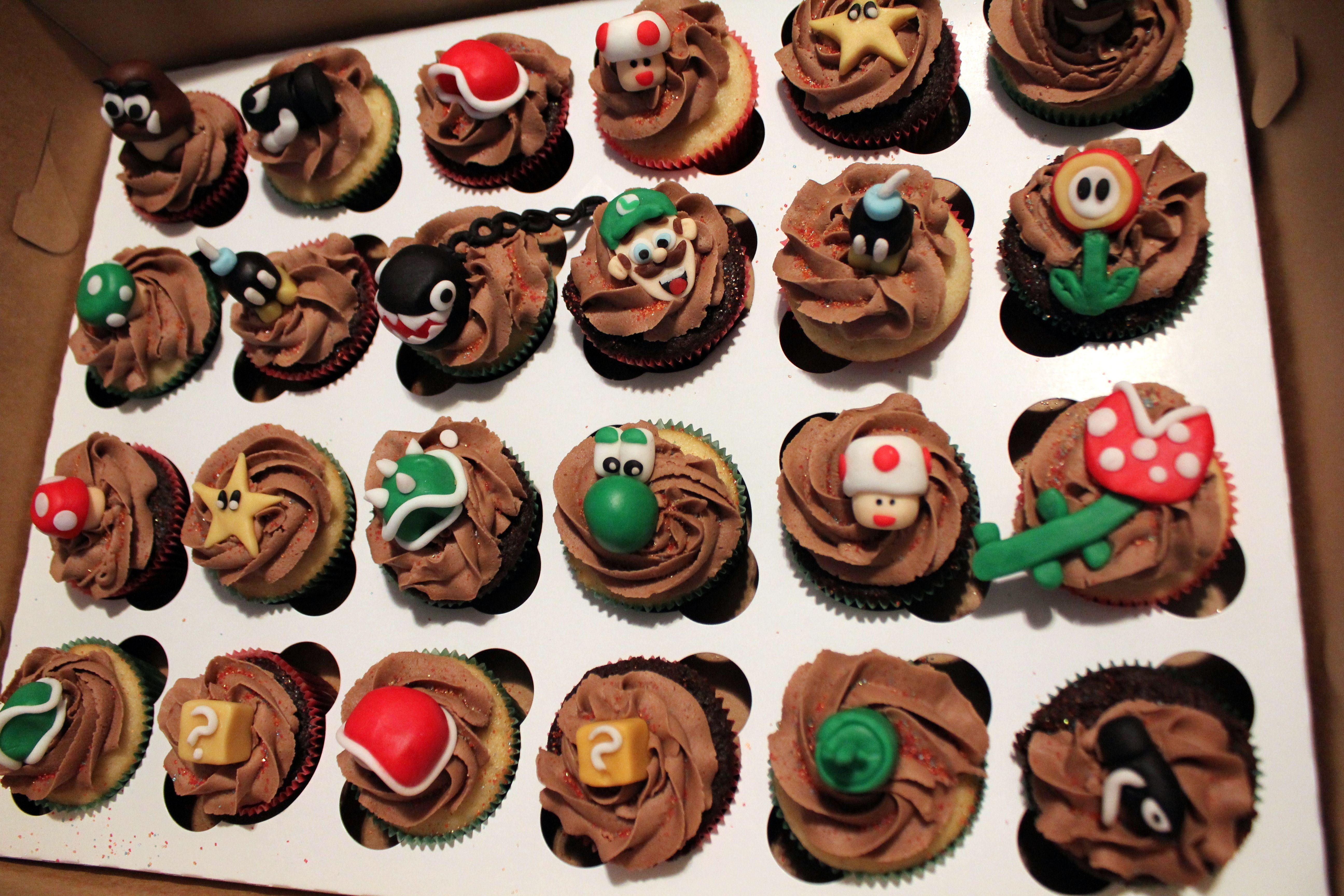 Mario Cupcakes!!! Let's GO!