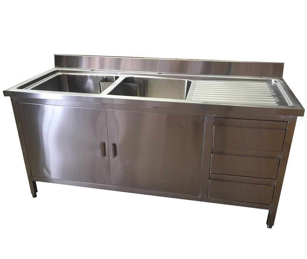 Sink Units With Drawers Cupboards Steel Kitchen Cabinets Best Kitchen Sinks Best Kitchen Countertops