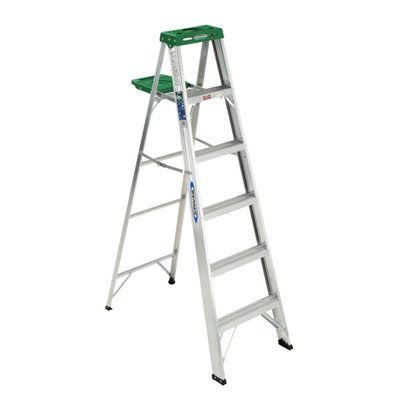 Werner 6 Ft Aluminum Step Ladder Ladder