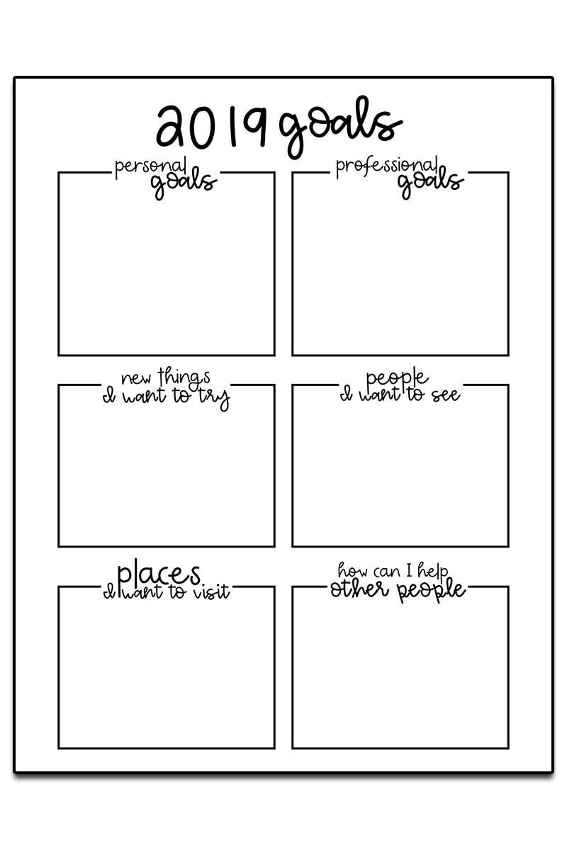 Goal Setting Worksheets 3 Free Goal Planner Printables Goal Planning Worksheet Goals Worksheet Goal Setting Worksheet