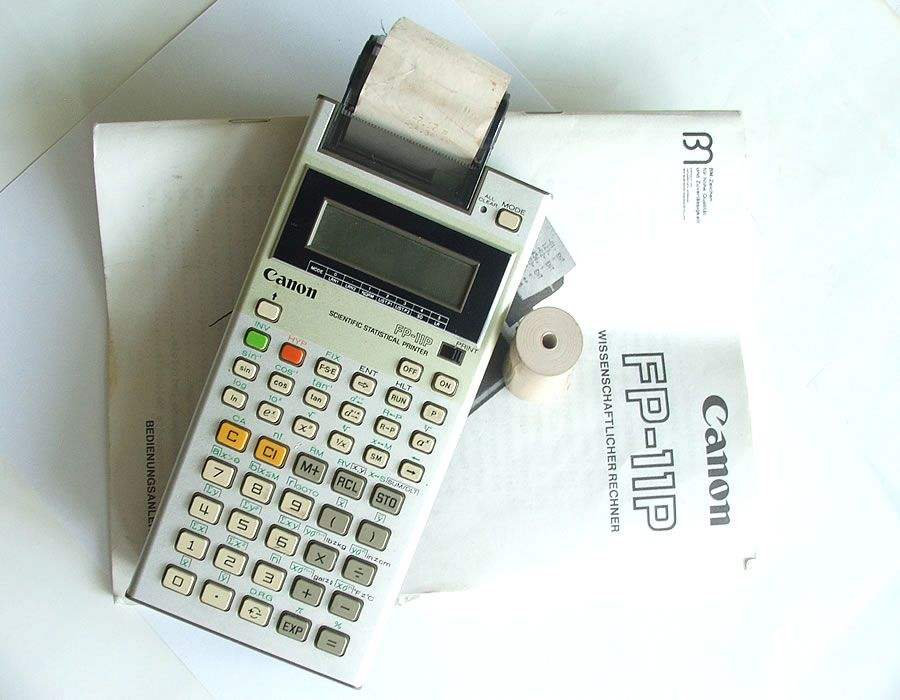 canon calculator user manuals