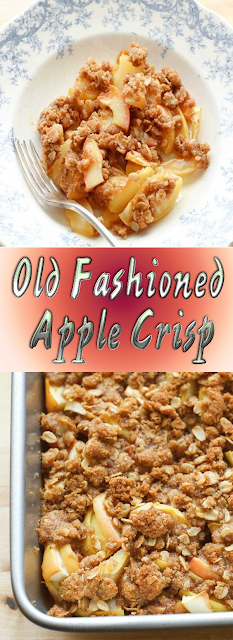 Old Fashioned Apple Crisp {Traditional and Gluten Free RecipesIncluded} Recipe #applecrisprecipe