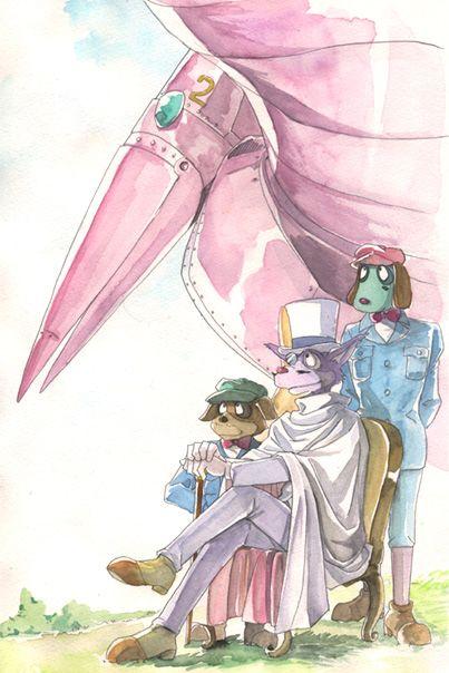 名探偵ホームズのイラスト Studio Ghibli And Others 名探偵ホームズ