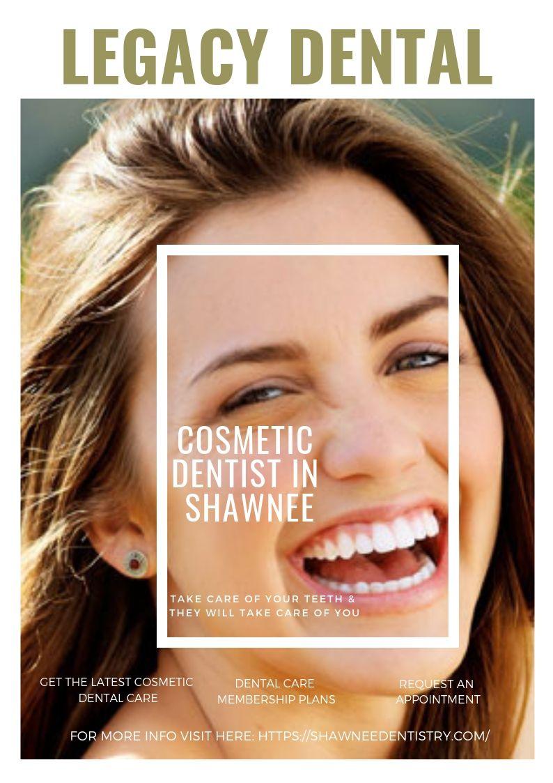 Here the best cosmetic dentist in shawnee ks legacy