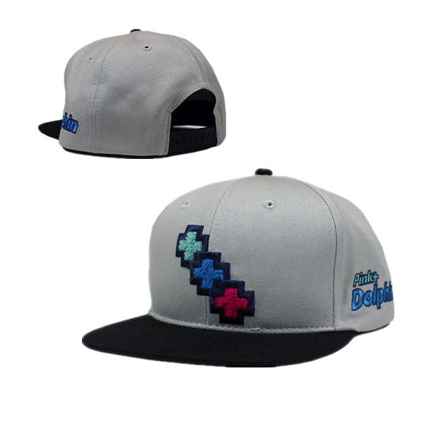 Cap · Pink Dolphin Snapback Hat 46