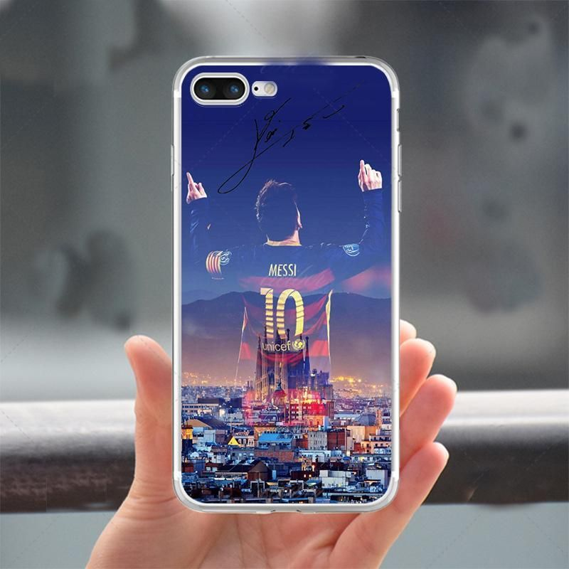 26fa9ad17 FC Barcelona Phone Case Cover For Apple iphone 7 7 plus 5S SE 6 6S ...