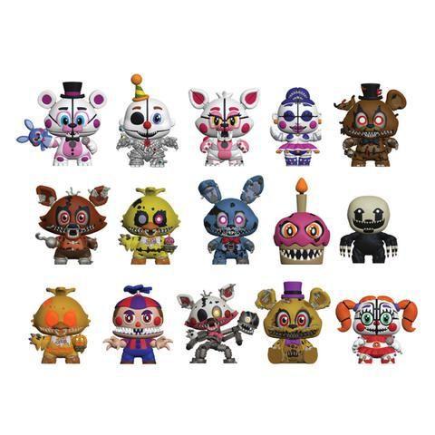 Fnaf Funko Mystery Minis Freddy Toys Anime Fnaf Fnaf Coloring Pages