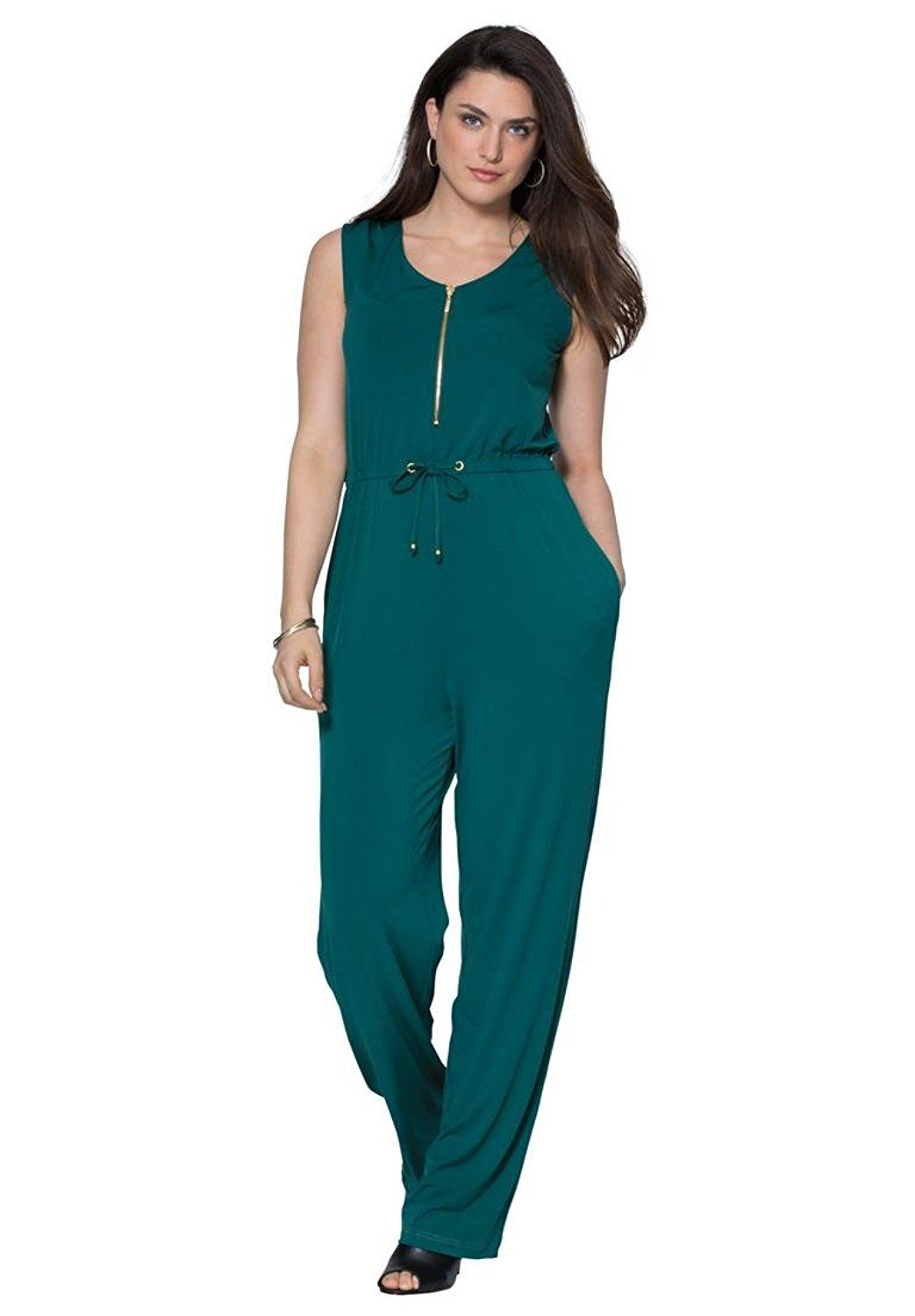 Jessica London Womens Plus Size Jumpsuit This Is An Amazon