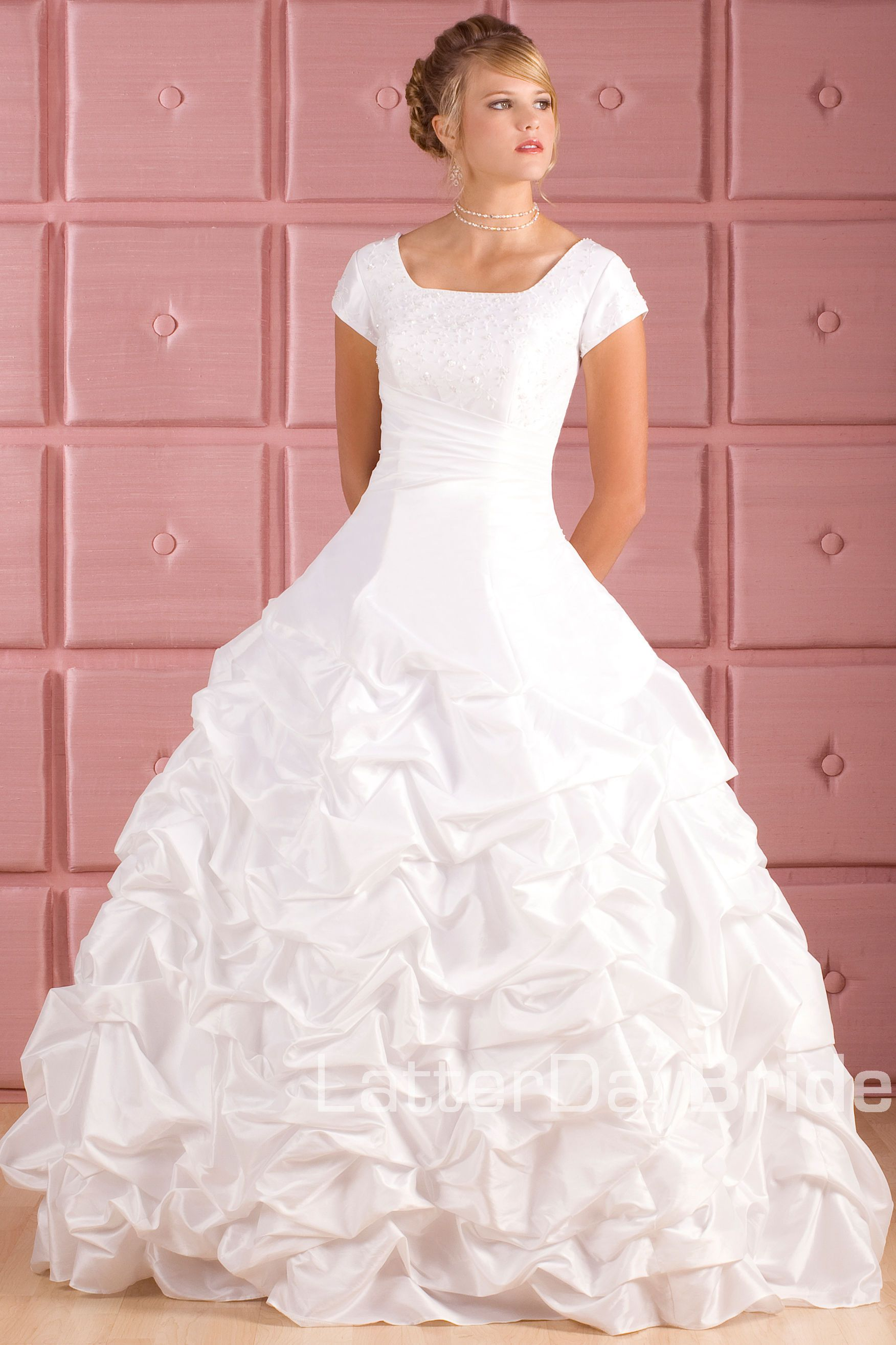Latter Day Bride. It\'s a little simple for me, but I like the shape ...