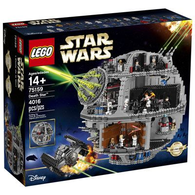 LEGO Star Wars: Death Star (Hard to Find) - 4016 Pieces (75159)