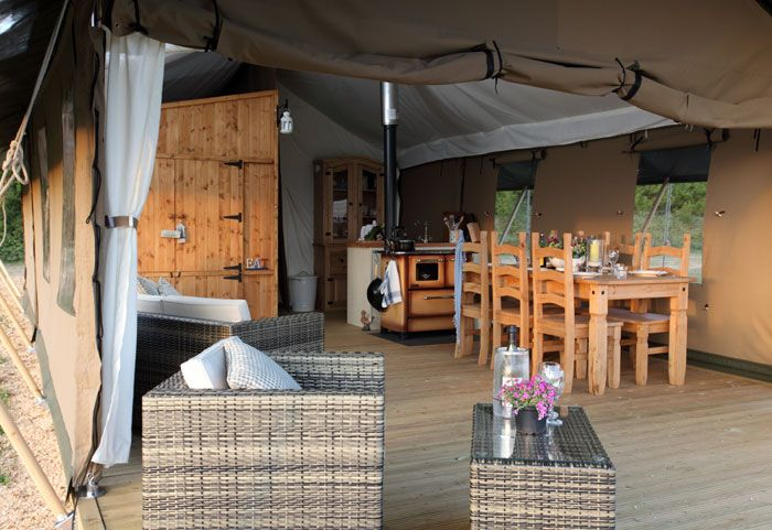 Wild Luxury, Norfolk. Wild camping in Norfolk's beautiful open unspoilt countryside, with all the creature comforts you enjoy at home http://www.organicholidays.co.uk/at/2954.htm