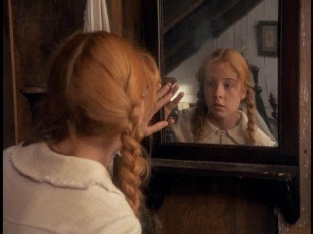 Anne Of Green Gables Talking To Her Window Friend Katie With