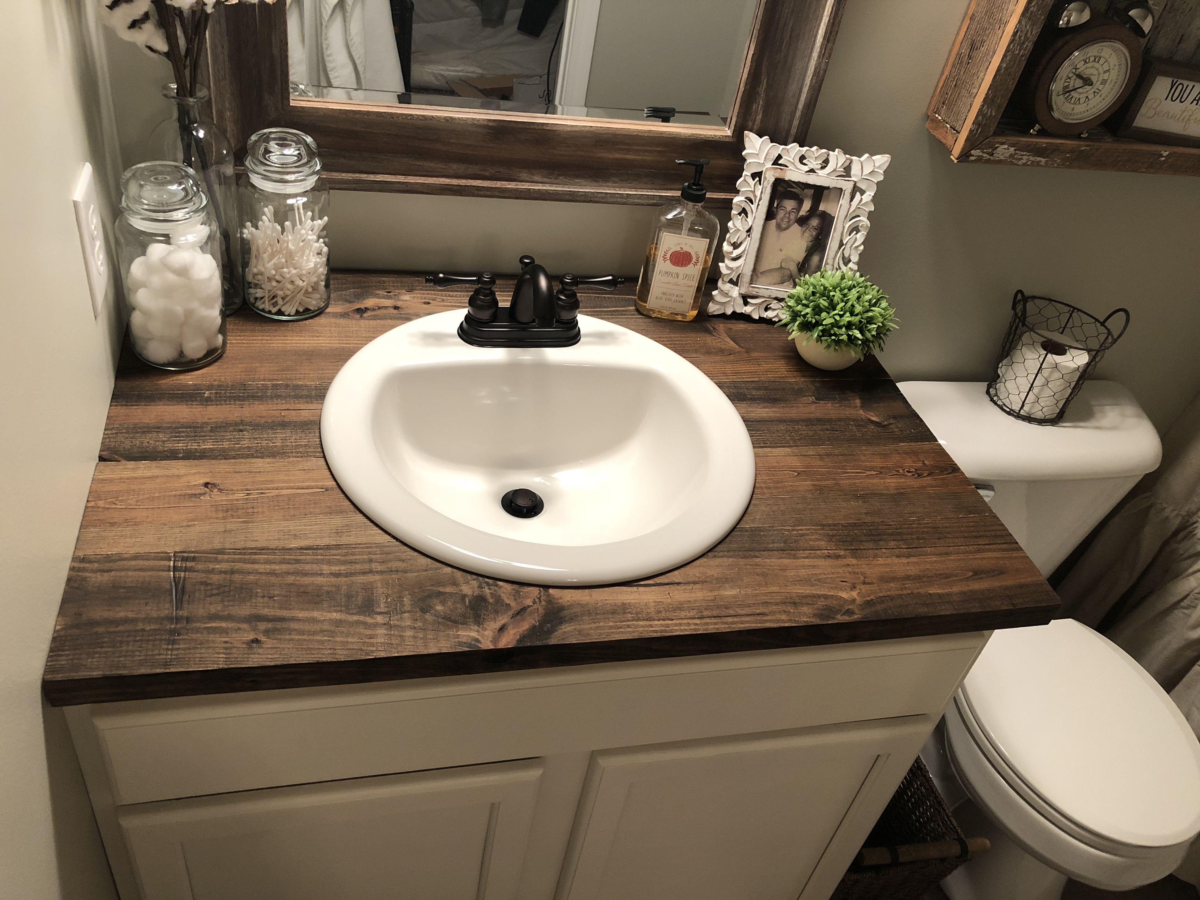 wood vanity top bathroom vanity designs primitive on vanity for bathroom id=21157