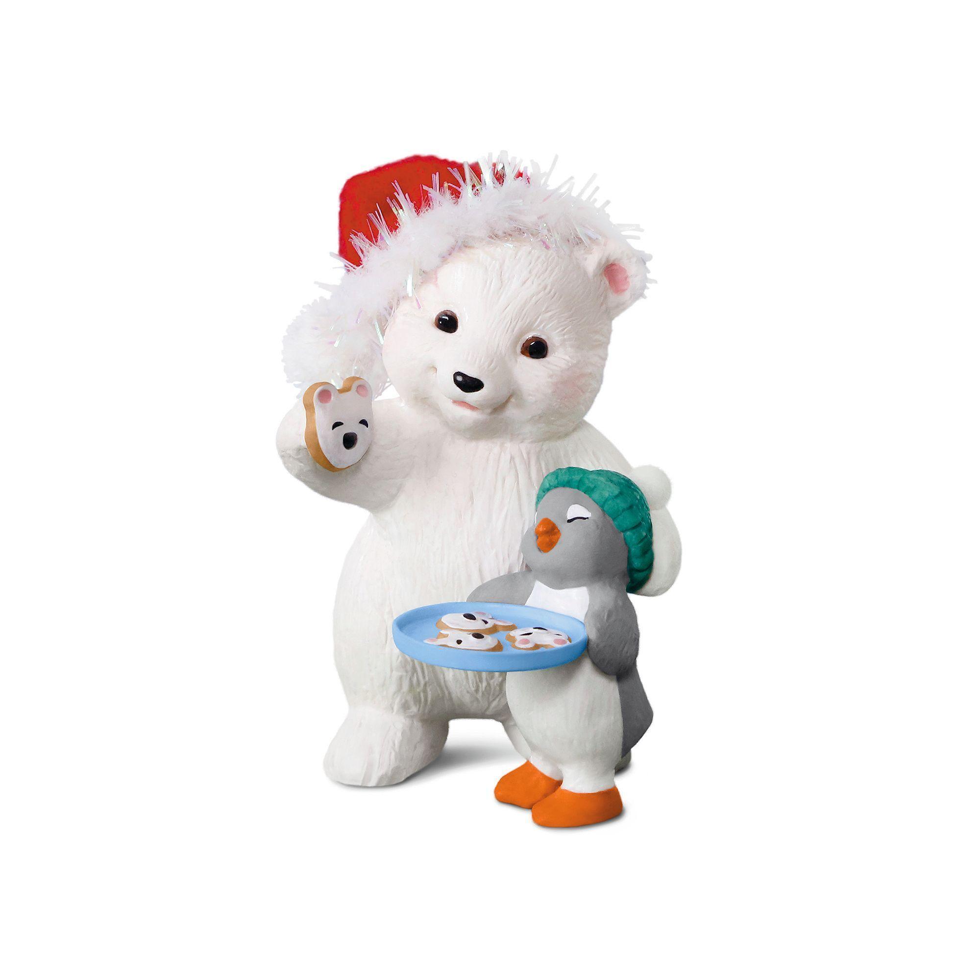 Hallmark 2017 Miniature Keepsake Ornament Sweet Li/'l Santa Santa on Gumdrop