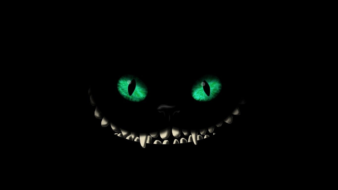 Cheshire Cat Wallpaper Iphone 6 Fondos Oscuros Calaveras Arte