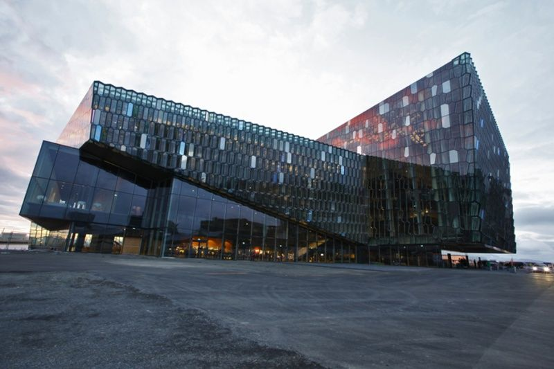 Harpa: Iceland's Opera House. This is an incredible building!