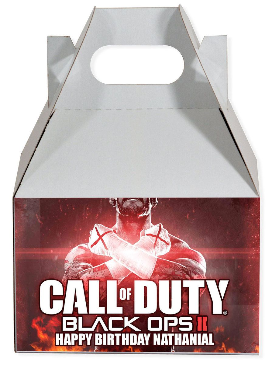Call of Duty Black Ops 2 Personalized Gable Box   Gable boxes