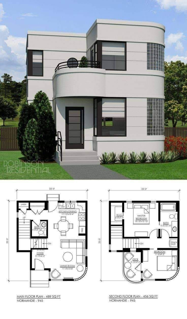 Home Designs | House front design, Simple house design, Small house plans