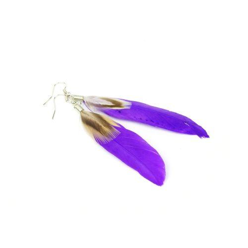 Lange Feder hübsch Drop Dangle Kronleuchter Ohrring Eardrop Frauen Mädchen Schmuck Zubehör geschenke gestalten