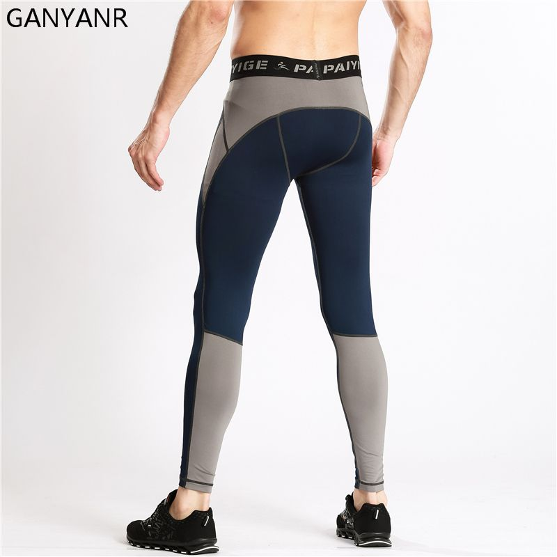 Ganyanr Running Tights Men Basketball Yoga Compression Pants Quick Dry Athletic Sport Legging Fitness Bodybuilding Jogging Gym Outdoor You Should Know In 2020 Mens Running Tights Mens Tights Sports Leggings