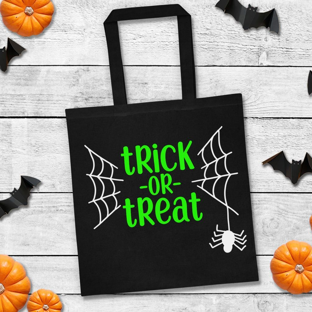 """""""Trick or Treat"""" Halloween SVG File Happiness is"""