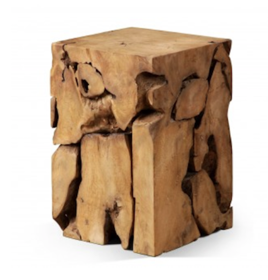 CONTEMPORARY December 2013: Root in Natural Teak - a teak root pulled from the swamps of Java and otherwise disregarded, this makes a fantastic objet d'art. Each root is unique and will differ from one another. Made from 100% reclaimed teak. £468 from www.raftfurniture.co.uk.