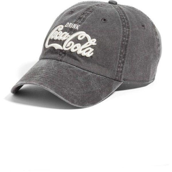 Women s American Needle New Raglan - Coca-Cola Baseball Cap ( 29) ❤ liked  on Polyvore featuring accessories e5b25e4137e