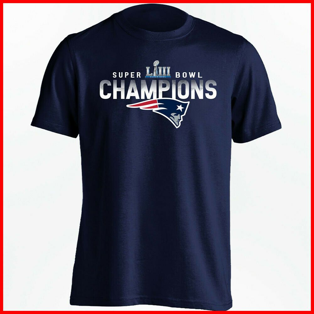 New England Patriots 6 Time Super Bowl Champions Nfl Graphic T Shirt Men S New England Patriots Mens Tshirts England Patriots