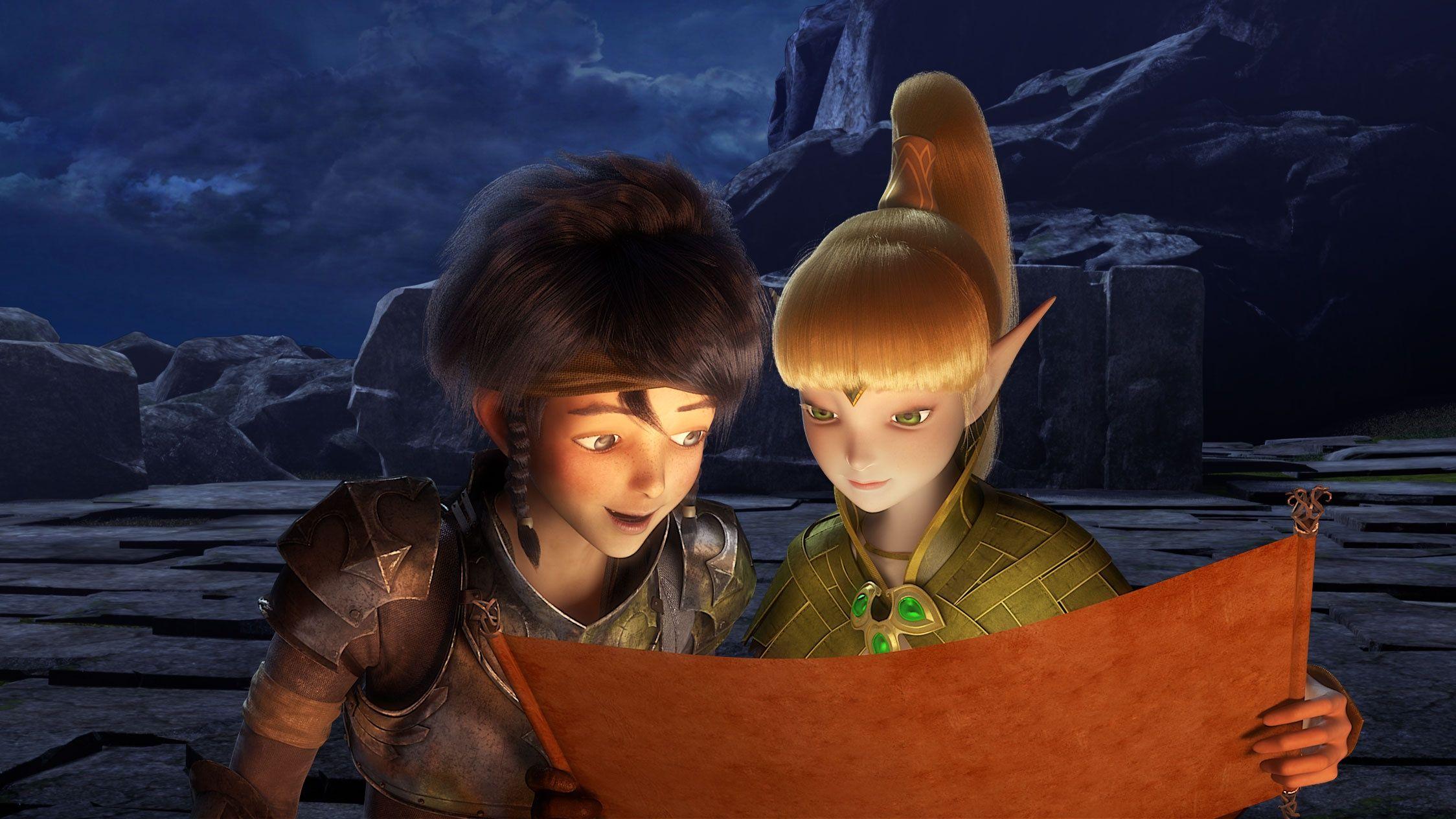 Dragon Nest Warriors Dawn Lambert & Liya map 2248x1264